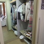 Superior room walk-in wardrobe!!!