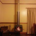 Warn & cozy fireplace