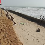 Repairs to the beach access - sturdy and safe if not pretty
