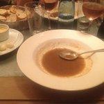 zuppa di pesce e crostini