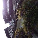 Interlaken - Hotel Alpina - Strassenfassade
