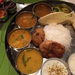 Southern Indian Restaurant Madras Meals Foto