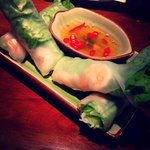 shrimp & pork summer rolls