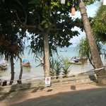 Ao Nang beach road and beach.