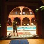 La piscina della Guest House
