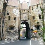 Porta di ingresso al Castello di Cagliari