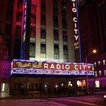 Radio Ciy Music Hall by night