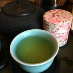 Green tea supply in the room