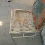 Ødelagt rotting sete