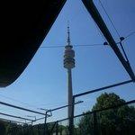 Torre vista do restaurante da BMW