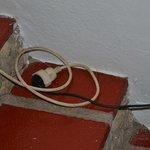 cableado en mal estado