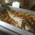 Pescados al horno