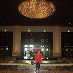 at the lobby..