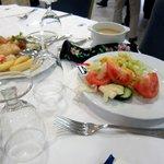 ホテルの夕食