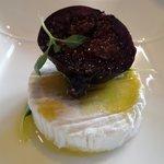 l'assiette de fromage de Rocamadour