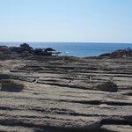 """la """"spiaggia"""" rocciosa"""