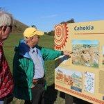 Signage, Monks Mound, Cahokia Oct 2013