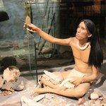 Toolmaker exhibit, Cahokia Mounds, Oct 2013