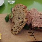 Duck Pate Sandwich