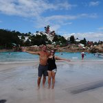 Blizzard Beach! Me and Dad