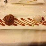 Dessert : Coulant spéculoos et caramel