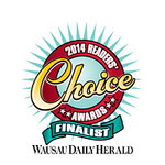 5 Readers Choice Awards in 2014! WOW......congrats to us.
