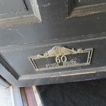 Nameplate on Front Door