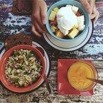 Organic Wild Rice & Fruits salads