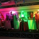 Lifesize display of costumes