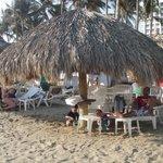 Beach Palapa--1st come, 1st serve