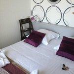 petit chambre, lit confortable