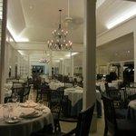 Cariblue Restaurant at night