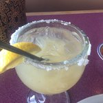 A margarita made from LEMONS.  Really?