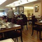 Breakfast area..