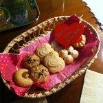 biscotti al nostro arrivo