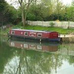 Narrowboat at Purton, Glos.