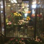 Hotel flower shop