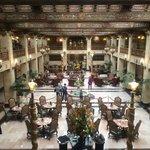 Original hotel lobby