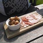 disgusting meat platter £8