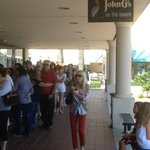 Avoid a line up! Get to John G's early