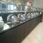 Breakfast buffet - hot food choices