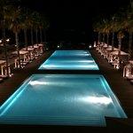 Poolside @ night