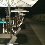 Pool side @ Night