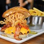 Holy Smoke BBQ Burger