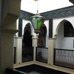 Intérieur du Ryad Laârouss