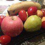 Complimentary Fruit basket