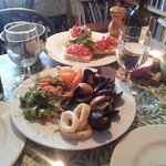 Seafood Antipasto platter