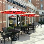 Come and enjoy an iced cold latte outside on our patio.
