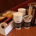 We can cater your next meeting or event.