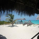 hermosa vista desde comedor playa hotel sol cayo santa maria